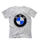 Футболка BMW логотип