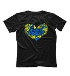 Футболка Love Ukraine сердце