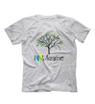 Футболка Дерево I LOVE UKRAINE