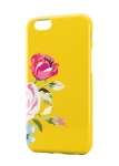 Чехол Роза на желтом фоне для iPhone, Samsung, Lenovo, Meizu