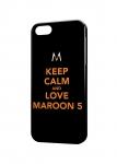 Чехол Love Maroon 5 для iPhone и др. (любые модели)