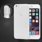 Ультра-тонкий пластиковый чехол для iPhone белый