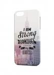 Чехол I am strong для iPhone  и др. (любые модели)