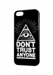Чехол Don't trust anyone для iPhone и др. (любые модели)