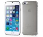 Cиликоновый чехол для iPhone 6 Ультратонкий (черный)