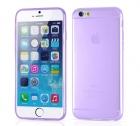 Cиликоновый чехол для iPhone 6 Ультратонкий (фиолетовый)