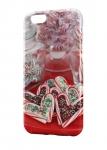 Чехол Карамельное сердце на фоне конфет для всех моделей телефонов