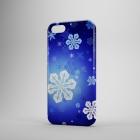 Чехол для iPhone 5/5s Новогодняя серия (снежинки №2)