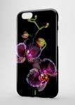 Чехол Фиолетовый цветок для iPhone и др. (любые модели)