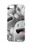 Чехол Веселые человечки для iPhone и др. (любые модели)