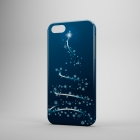 Чехол для iPhone 5/5s Новогодняя серия (ёлочка №4)