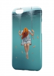 Чехол Девушка под водой для iPhone и др. (любые модели)