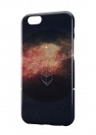 Чехол Космический корабль для iPhone и др. (любые модели)