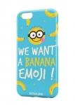 Чехол Banana emoji для iPhone и др. (любые модели)