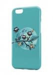 Чехол Веселые совы для iPhone и др. (любые модели)