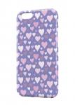 Чехол Розовые сердечки для iPhone и др. (любые модели)