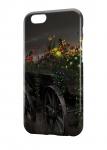 Чехол Сказочные яркие цветы для всех моделей телефонов
