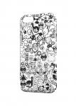 Чехол  Стикеры 02 для iPhone  и др. (любые модели)
