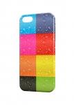 Чехол Цветные квадраты для iPhone  и др. (любые модели)