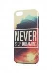 Чехол Never stop dreaming для iPhone  и др. (любые модели)
