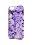 Чехол Фиолетовые пионы для iPhone  и др. (любые модели)