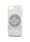 Чехол Be awesome today для iPhone  и др. (любые модели)