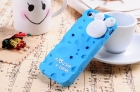 Силиконовый чехол для iPhone 5/5s Cheese (голубой)
