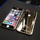 Золотые закаленные стекла для iPhone 6