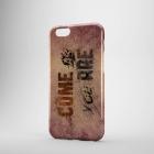 Пластиковый чехол для iPhone 6/6+ COME AS YOU ARE