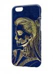 Чехол Психоделичный скелет