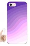 Силиконовый чехол Фиолетовый градиент