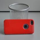 Силиконовый чехол для iPhone 5/5s Глянец Red