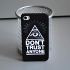 Чехол для iPhone 4/4s DON'T TRUST ANYONE