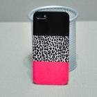 Чехол для iPhone 5/5s Pink-Black-Leo