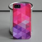 Чехол для iPhone 5/5s Абстракция Pink