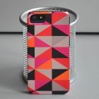 Чехол для iPhone 5/5s Абстракция Black-Red