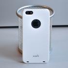 Пластиковый чехол для iPhone 5S Moshi (белый)