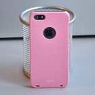 Пластиковый чехол для iPhone 5S Moshi (св. розовый)