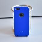 Пластиковый чехол для iPhone 5S Moshi (синий)