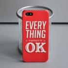 Чехол для iPhone 5/5s Everything is OK