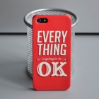 Чехол для iPhone 5/5s Everything is OK