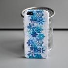 Чехол для iPhone 5/5s Новогодняя серия (снежный)