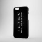Пластиковый чехол для iPhone 6/6+ EAT LIFT MISC SLEEP REPEAT