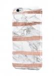 Чехол Мраморный с розовыми линиями для всех моделей телефонов