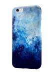 Чехол Взрыв синих красок для всех моделей телефонов