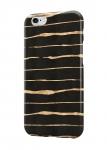 Чехол Черный с золотыми линиями для всех моделей телефонов