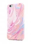 Чехол Разбавленные розовые краски для всех моделей телефонов