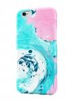 Чехол Розово-синие краски для всех моделей телефонов