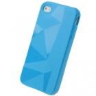 Силиконовый чехол для iPhone 4/4s Diamond Blue