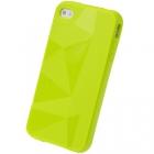 Силиконовый чехол для iPhone 4/4s Diamond Green